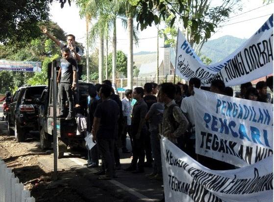 gempar 1 Gempar Tuntut Pengadilan Negeri Padangsidimpuan Hukum Penjahat Kehutanan