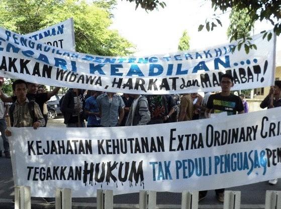 gempar 2 Gempar Tuntut Pengadilan Negeri Padangsidimpuan Hukum Penjahat Kehutanan