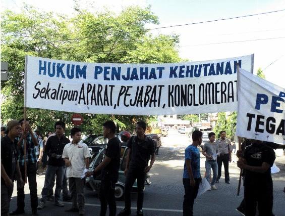 gempar 3 Gempar Tuntut Pengadilan Negeri Padangsidimpuan Hukum Penjahat Kehutanan