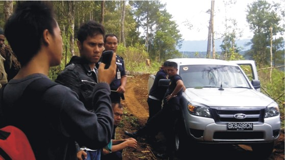graphic4 Anggar Security dan Aparat : PT. TPL Kembali Serobot Tanah Rakyat