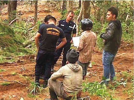 graphic5b Anggar Security dan Aparat : PT. TPL Kembali Serobot Tanah Rakyat