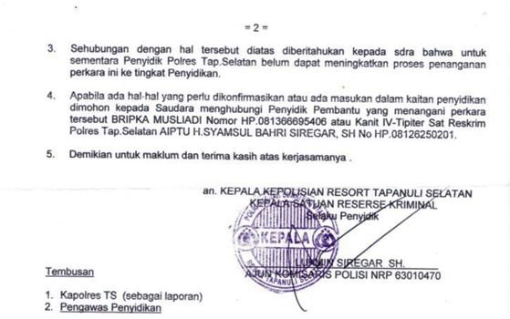alarm tpl 6 PT. TPL Manipulasi Penebangan dan Korupsi Setoran DR & PSDH
