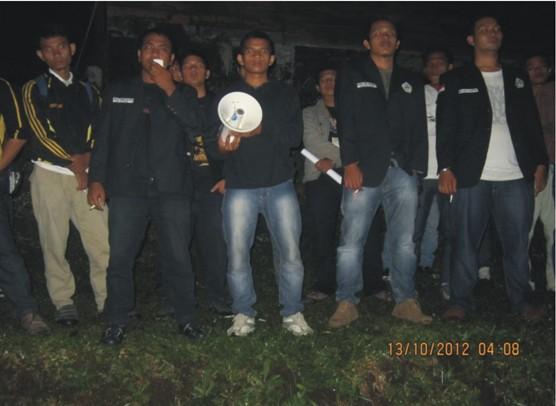 dpp 3 Training Leadership DPP Ikatan Mahasiswa Mandailing Natal (IMA) Bumi Perkemahan Sibolangit, 12 14 Okt. 2012
