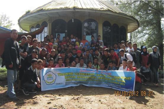 dpp 6 Training Leadership DPP Ikatan Mahasiswa Mandailing Natal (IMA) Bumi Perkemahan Sibolangit, 12 14 Okt. 2012