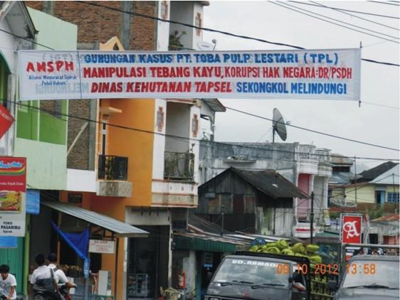 graphic1 Masyarakat Sipirok Kampanye Anti Pt. Toba Pulp Lestari: Dishut Tapsel Dituding Sekongkol Malah Bungkam