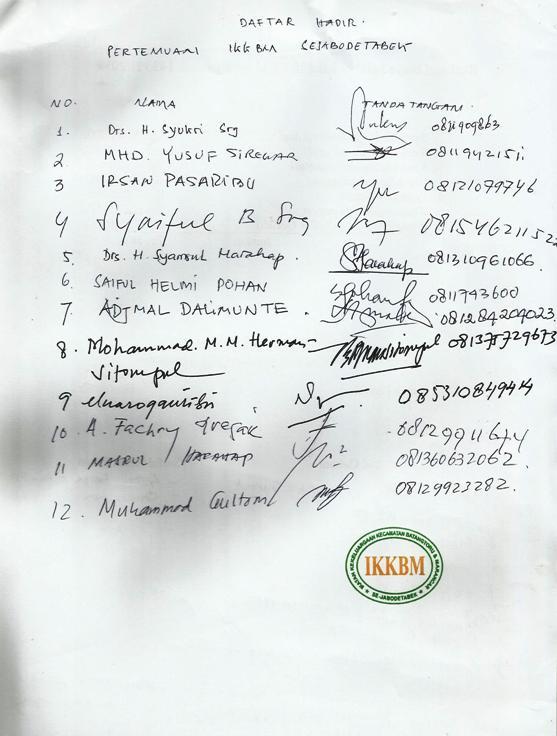 tambang3 Pernyataan Sikap IKKBM Jabodetabek Tentang Perkembangan Situasi Terkait Operasi Perusahaan Tambang Emas Di Batang Toru Tapsel