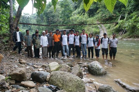 dsc07647 NNBS Sumut Rehab Jembatan Gantung di Sipirok