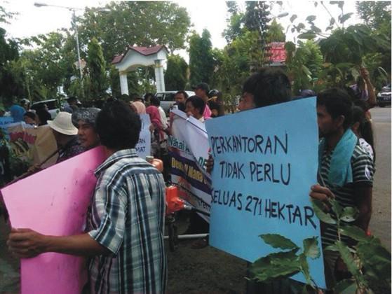 pr 6 PERNYATAAN SIKAP (Press Release) Forum Komunikasi Korban SK Menhut N0. 244/Menhut II/2011 Desa Simpang Tolang dan Janji Mauli Kec Sipirok Kab. Tapanuli Selatan