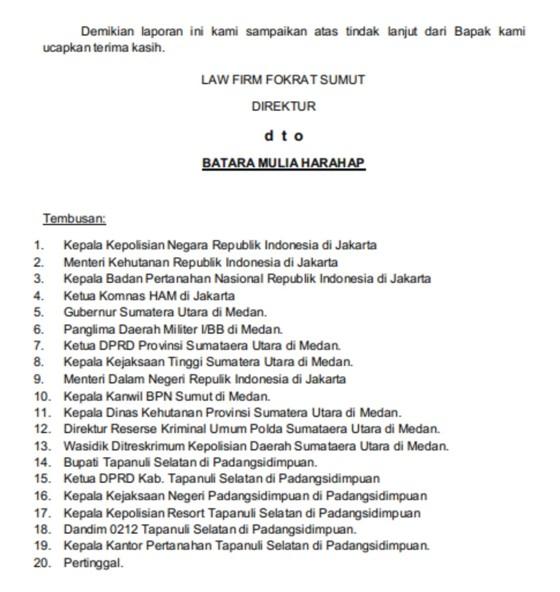 Contoh Surat Somasi Dugaan Korupsi Ahlipengertian